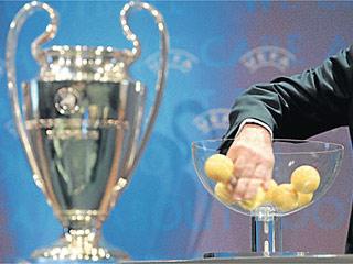 Sorteo de Champions.