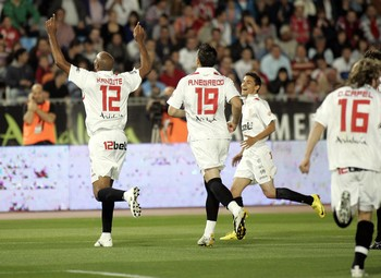 U.D. Almería 2 – Sevilla F.C. 3.  Objetivo cumplido.