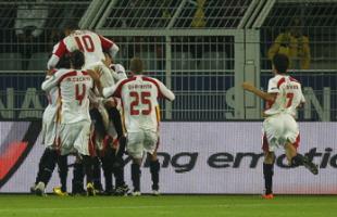 Borussia Dortmund  0 – Sevilla F.C 1. Eso es caer de pie.