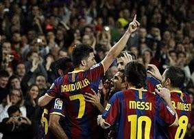 F.C Barcelona 5 – Sevilla F.C 0. ¿Deporte de contacto?