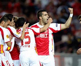 Sevilla F.C 4 - FK Karpaty 0. Salud de hierro.