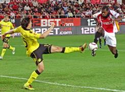 Sevilla F.C 2 - Borussia Dortmund 2. Próximo rival F.C. Porto.