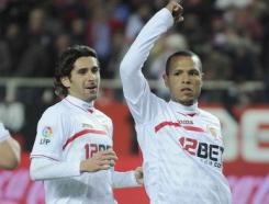 Sevilla F.C 4 – Levante U.D 1. El Sevilla de Romaric.