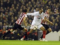 Athletic Club 2 – Sevilla F.C 0. Tarde aciaga.