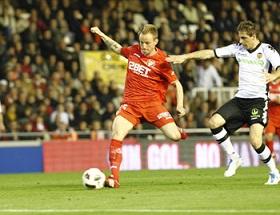 Valencia C.F 0  -  Sevilla F.C 1. Hay que tener fe.