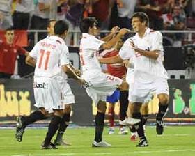 Sevilla F.C. – Real Zaragoza. La primera de nueve.