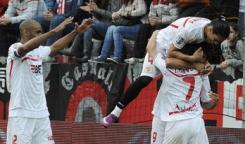Sevilla F.C 3  -  Real Zaragoza 1. Como diría Maradona, Aguirre chúpela.